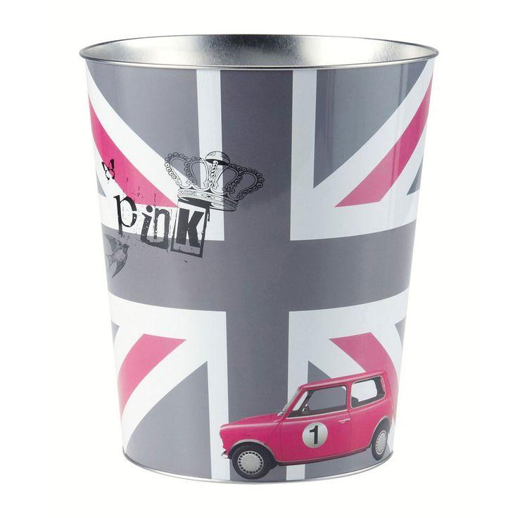 Corbeille à papier British girl