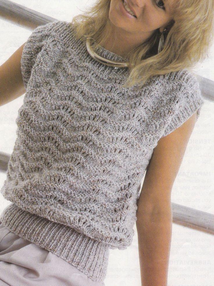 82 Best Lace Jumper Vintage Knitting Patterns Images On Pinterest