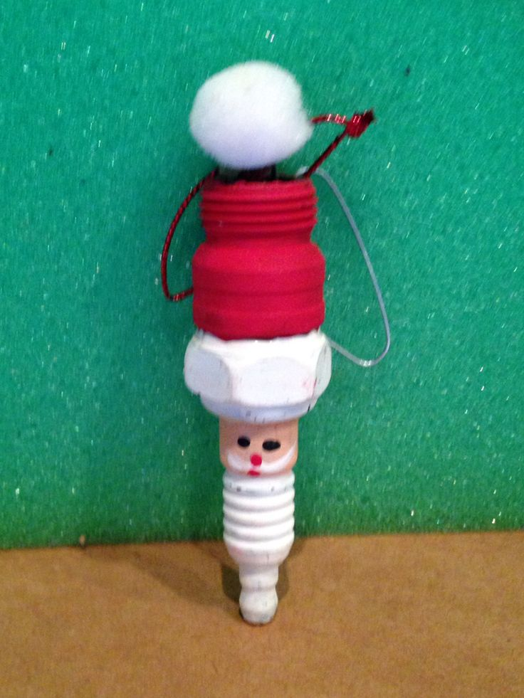 Spark plug Santa
