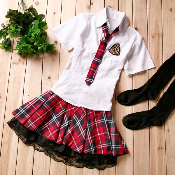 2016 Summer sailor suit student uniform classic service school uniform 4pcs set pleated skirt japanese uniforms preppy style set #Affiliate