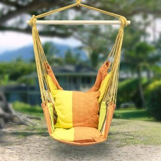 Shop for Sorbus Blue Hanging Rope Chair Porch Swing Seat Patio Camping Max. 265 Lbs. Free Shipping on orders over $45 at Overstock.com - Your Online Garden & Patio Outlet Store! Get 5% in rewards with Club O! - 18659358
