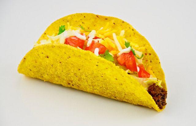 Make your own Taco Seasoning.    Combine:  1 Tbsp Chili powder  1/4 tsp each garlic powder, onion powder, red pepper flakes and oregano  1/2 tsp paprika  1 1/2 tsp cumin  1 1/2 tsp salt  1/2 tsp pepper  2 Tbsp of flour