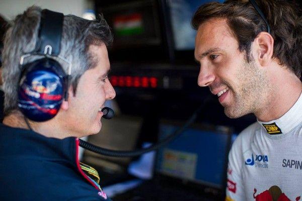 Vergne se bat pour un bon volant en Formule 1