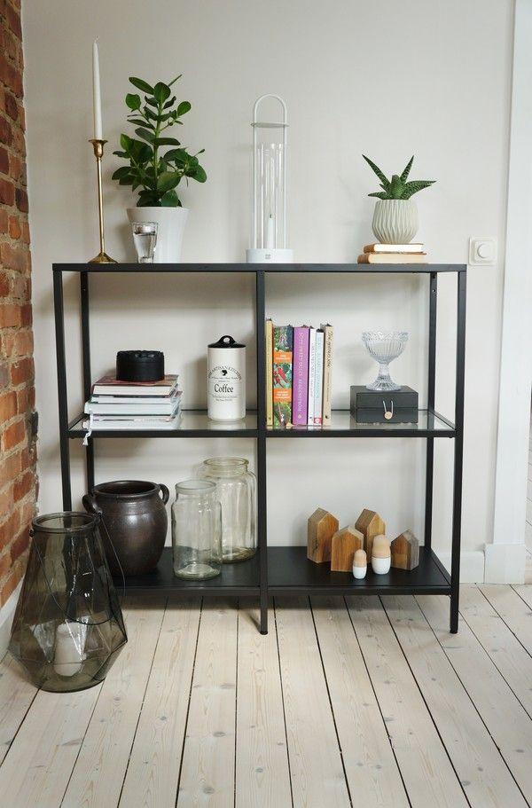 48 best ikea vittsjo images on pinterest for Ikea backless bookcase