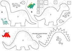 Felt Dinosaur's!-Free Pattern