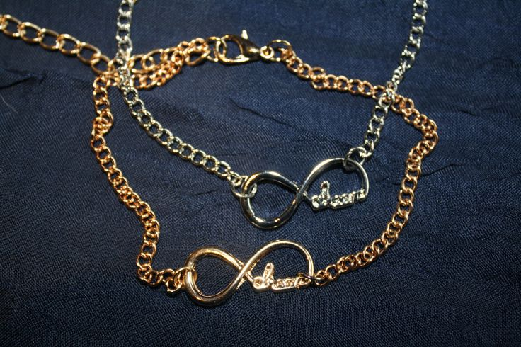 Infiniti Bracelet with Writing - GOLD - Lovely, lovely...and can be found at ceesquared.ca  Come and visit.