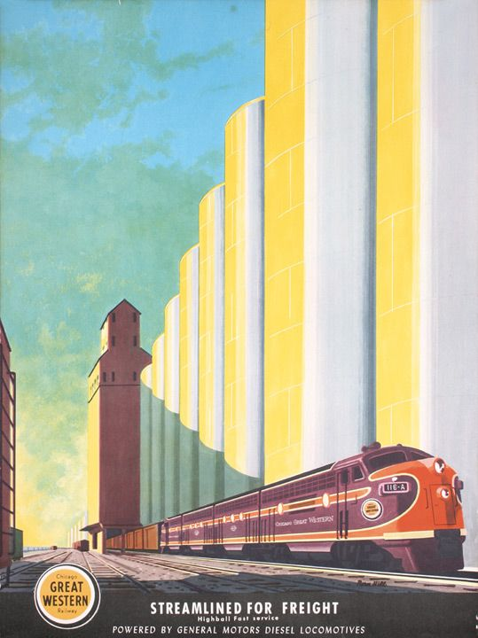 Bern hill posters from the electro motive division of for Electro motive division of general motors