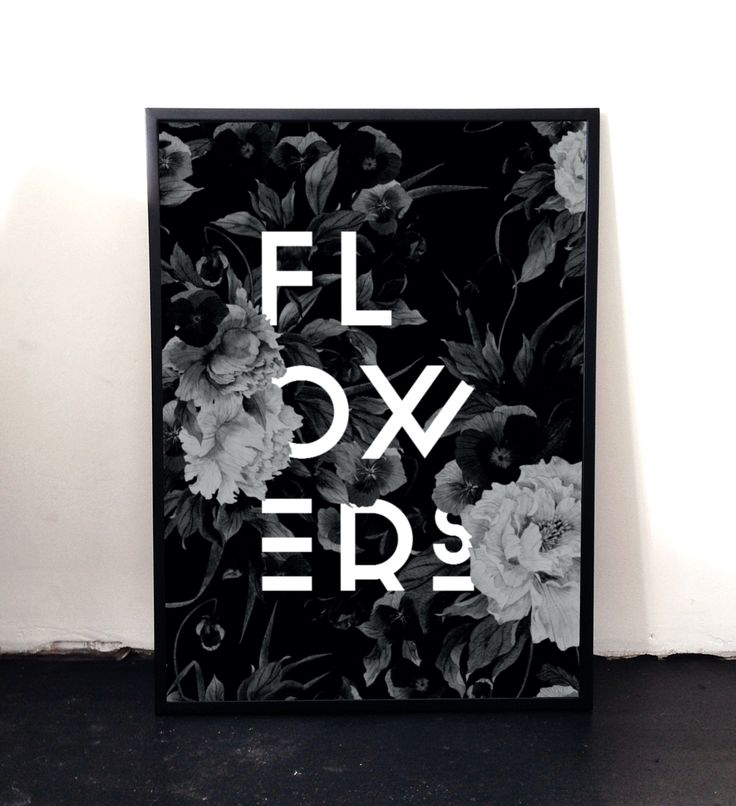 New Flower poster soon available in the web shop www.aboutgraphics.dk