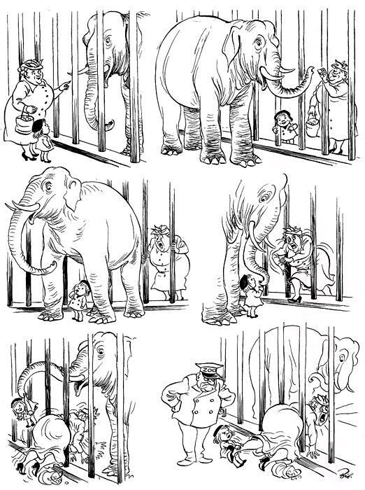 Херлуф Бидструп - великий мастер карикатуры