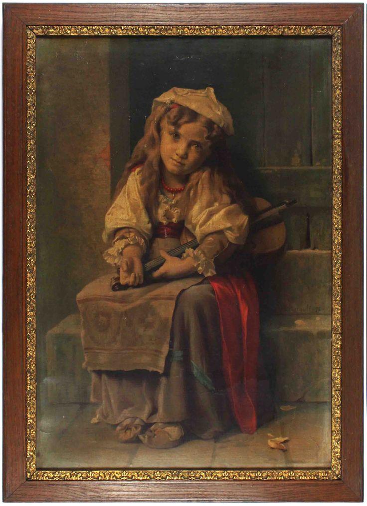 A print of a youn girl's portrait. #portrait #girl #print