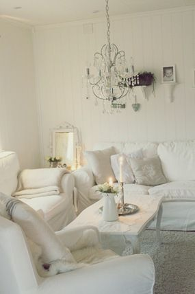 I wish I could do a white room this cool.