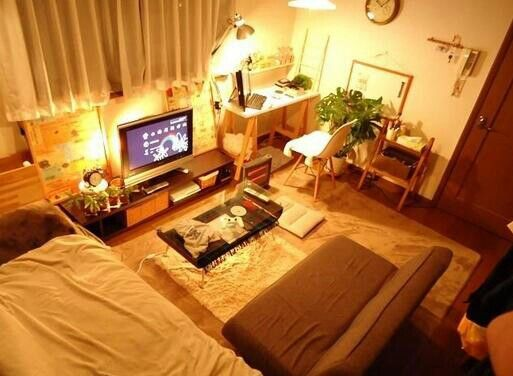 Japanese studio apartment 部屋