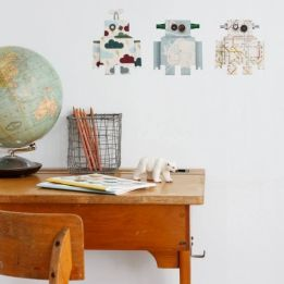 Wall Stickers Robots