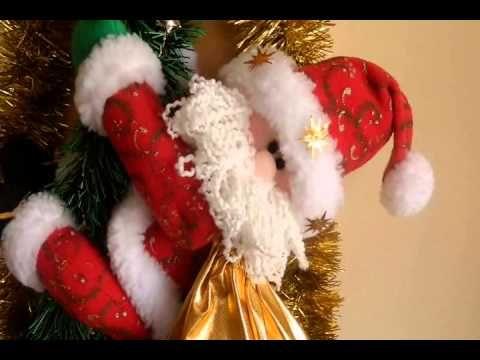 muecos de navidad decoracion navidea navideas adornos navideos cortinas navideas agarraderas pap noel marcos fieltro