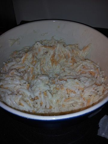 """Like Granite City creamy hashbrowns """"only on the weekends"""" lol"""