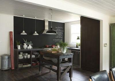 BOISERIE & C.: Pittura Lavagna - Chalk Board Paint: 27 nuove idee