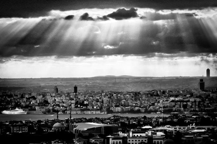 Sunshine over Istanbul