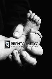Simple Baby Feet Photo.