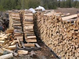 Stacked wood ~ Photo by...Clearview Lumber LTD.