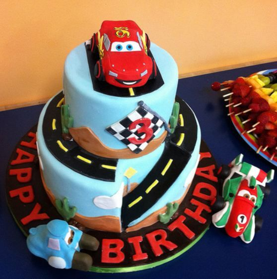 11 best McQueen images on Pinterest Cake ideas Car birthday cakes