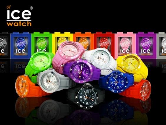#Ice-Watch w fantazyjnych kolorach.