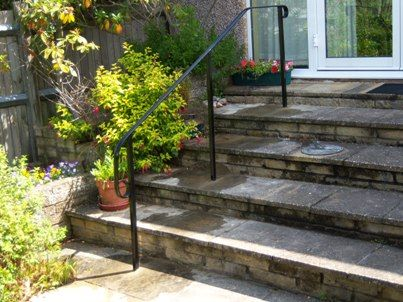 Best Front Garden Handrail People Freestanding Garden Step 400 x 300