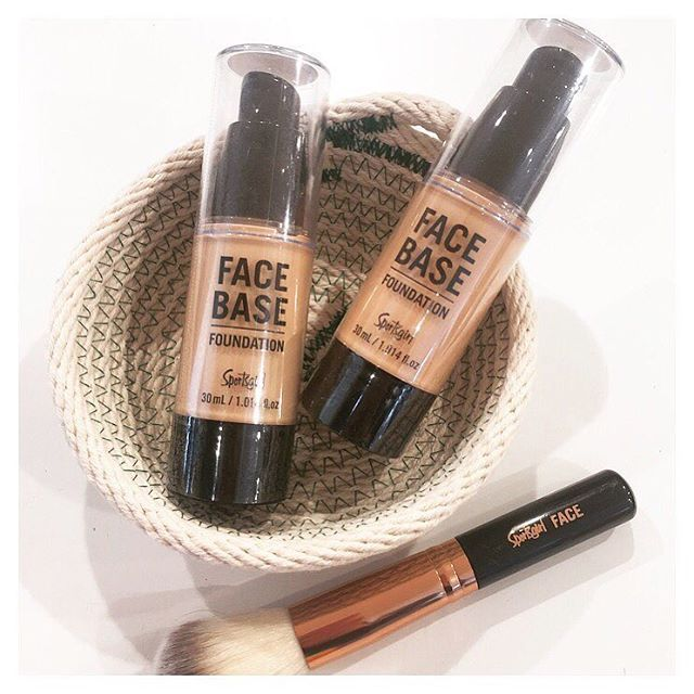 "Our New Sportsgirl Face Base Foundation has finally landed in store! And we are very impressed!! Come in and try - It's all about ""The Face"" 2 Nude Colours in Light and Medium $12.95 @sportsgirl #sportsgirlstyle #goldcoast #sportsgirlbeauty"