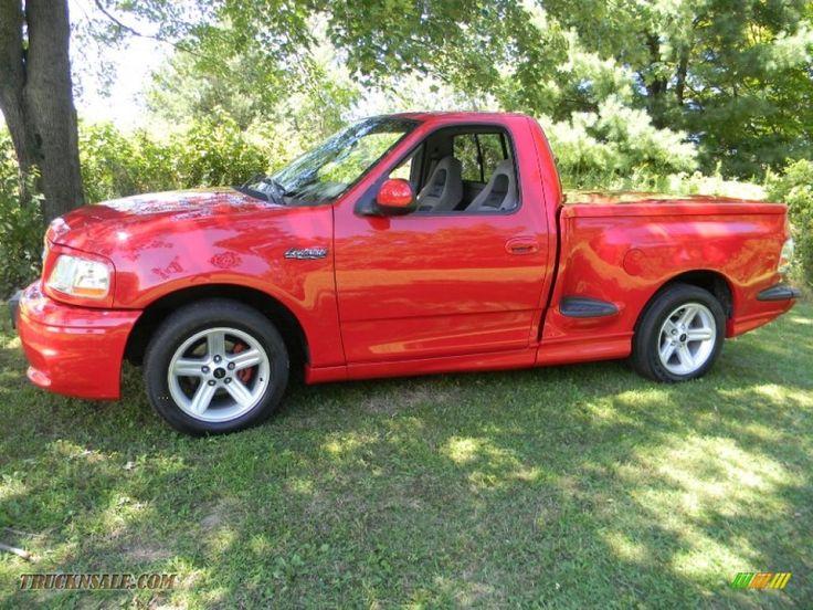 2004 Ford lightening truck | 2003 F150 SVT Lightning - Bright Red / Medium Graphite Grey photo #3