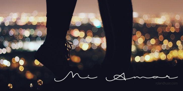Mi Amor font download
