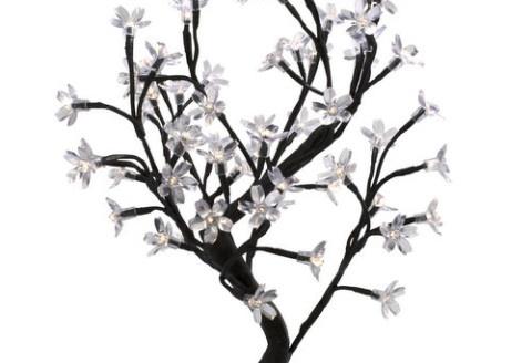 Delicada e moderna ao mesmo tempo, uma peça de decoração que faz sucesso onde estiver! Toda composta por pequenas flores iluminadas. Ótima opção para presentear.