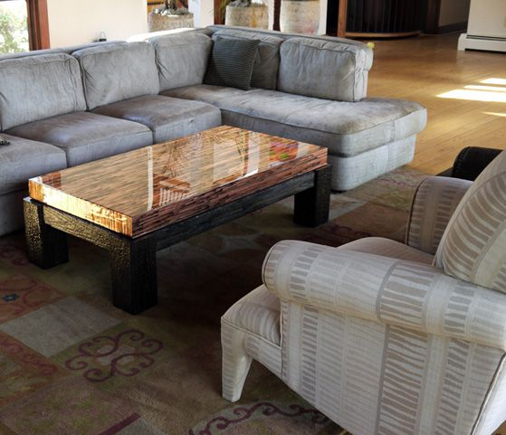 I'm in LOVE! Enchantment Copper Coffee Table