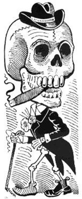 La gartijo - Jose Guadalupe Posada
