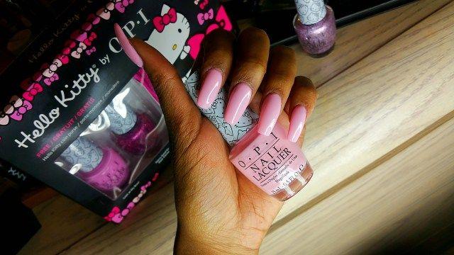 Hello Kitty Manicure OPI Small   Cute = ♥︎
