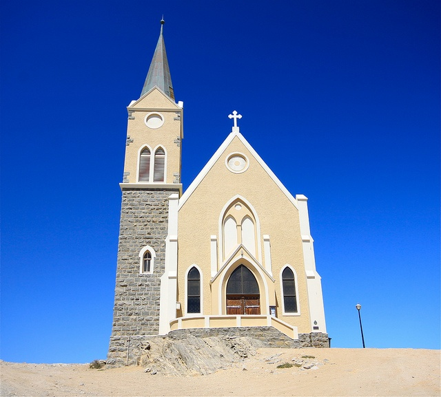 Church, Luderitz, Namibia by travelbug365, via Flickr