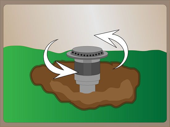 How to Repair a Pop up Sprinkler Head: 12 Steps (with Pictures) via wikihow.com