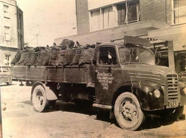 Ron Darch Coal Merchants Delivery Lorry 1960's.