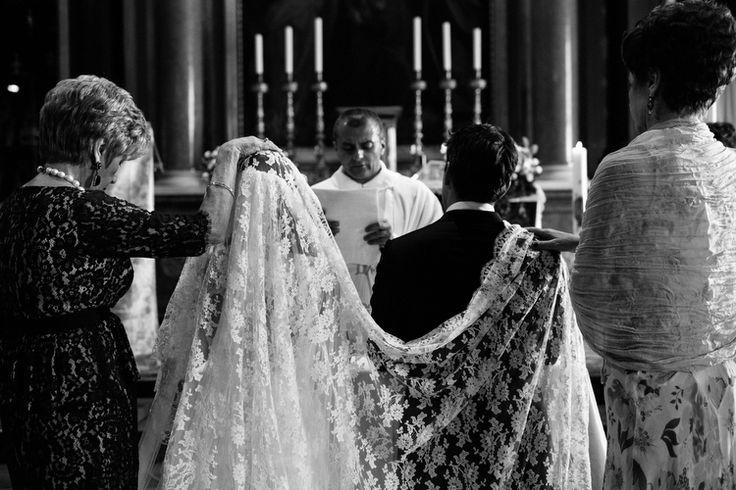 traditional italian wedding ceremony | via: the lane