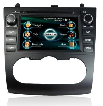 Autoradio DVD Nissan altima avec ecran tactile & fonction bluetooth ,TV,SD,USB,GPS,Can Bus
