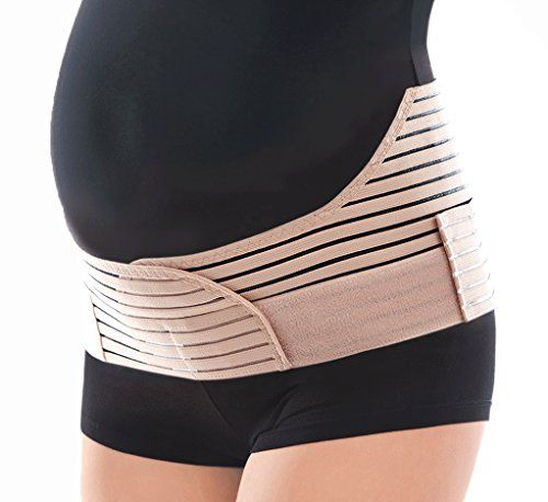 Cheap TOROS-GROUP Breathable Elastic Maternity Support Belt - X-Small Hips 34