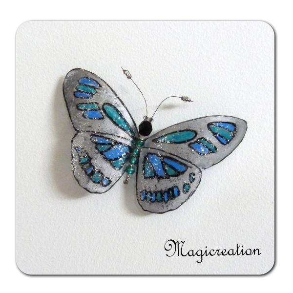 MAGNET PAPILLON BASTET - Boutique www.magicreation.fr
