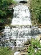 Hamilton Waterfalls. Quality Suites Oakville