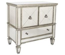 Celeste Mirrored Console Cabinet by Butler Specialty