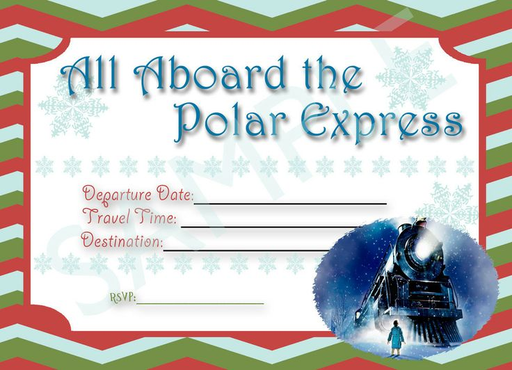 Perfect for your Polar Express Party!!