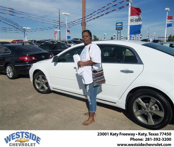 #HappyAnniversary to Lisa M Woods on your 2012 #Chevrolet #Malibu from Vaughn Stanley at Westside Chevrolet!