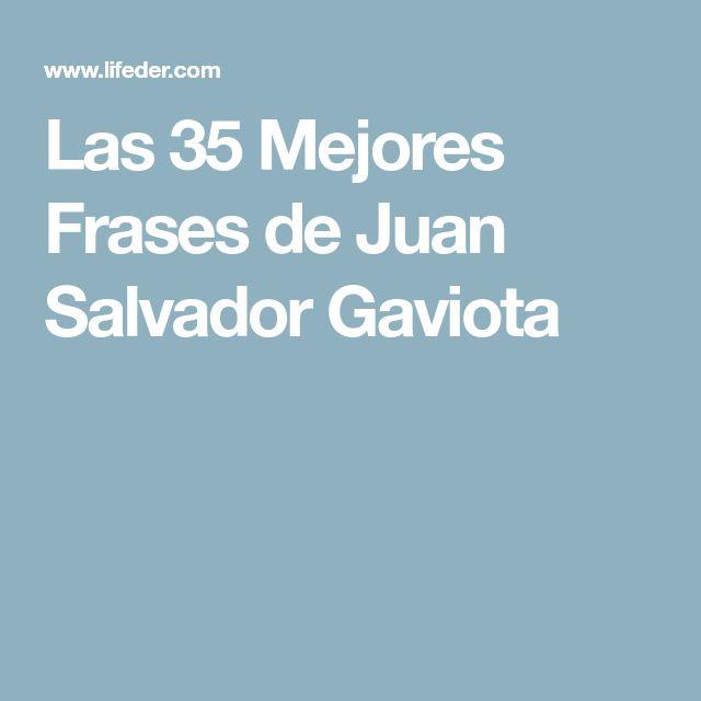 Mejores Frases De Juan Salvador Gaviota