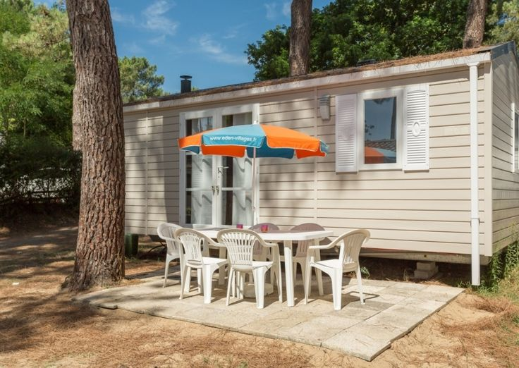 Mobil-Home SMALL FAMILY - 4/5 personnes - Camping Palmyre Loisirs