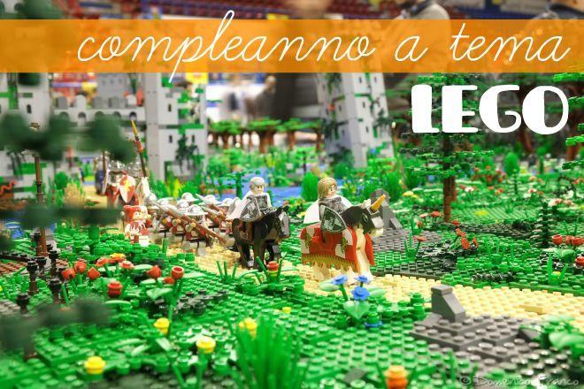 Lego party: festa a tema costruzioni