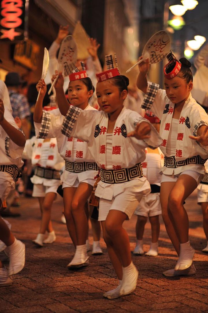阿波踊り、お祭り/Koenji Awaodori Japan