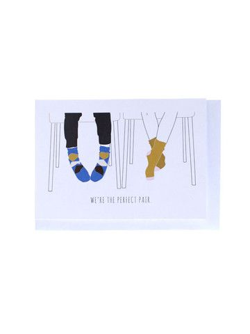 Ragdoll illustrations - Perfect Pair Greeting card.  http://www.swonderful.co.nz/collections/new/products/perfectpaircard