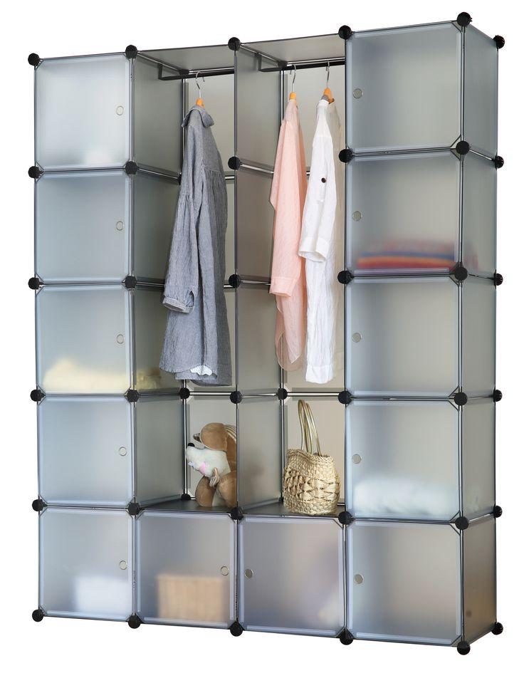 Perfect Details zu Schrank Regal Steckregal Regalsystem Kleiderschrank Garderobe Badregal Auswahl